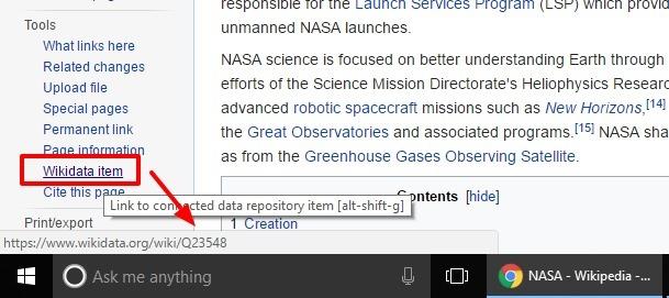 Wikipedia QID